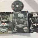SONY PlayStation 2 PS2 Madden NFL 05 2005 Collector's Edition (COMPLETE)