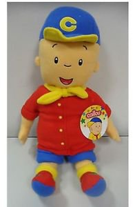 """NWT CAILLOU Huge 24"""" PLUSH Cuddle Pillow Buddy Doll PBS Sprout Big Large Fleece"""