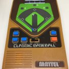 Mattel Handheld Classic Baseball  Retro Electronic Game 2001
