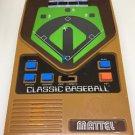 Mattel Handheld Classic Baseball  Retro Electronic Game 2001