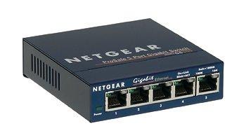 Netgear GS105NA Prosafe 5-Port 10/100 Gigabit Desktop Switch New