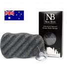 Activated Charcoal Konjac Sponge - Body Size