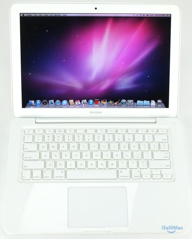 "Apple 2010 White MacBook Unibody 13"" 2.4GHz C2D 250GB 2GB MC516LL/A (B Grade)"