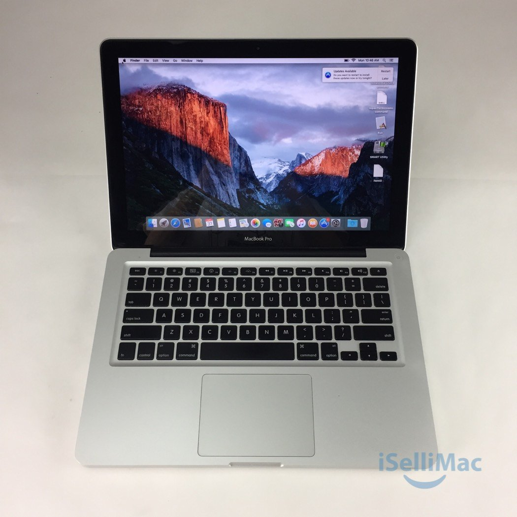 "Apple 2009 MacBook Pro 13"" 2.26GHz C2D 128GB SSD 4GB MB990LL/A + B Grade"