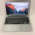 "Apple 2014 MacBook Air 11"" 1.7GHz I7 128GB SSD 4GB MD711LL/B-BTO + C Grade"