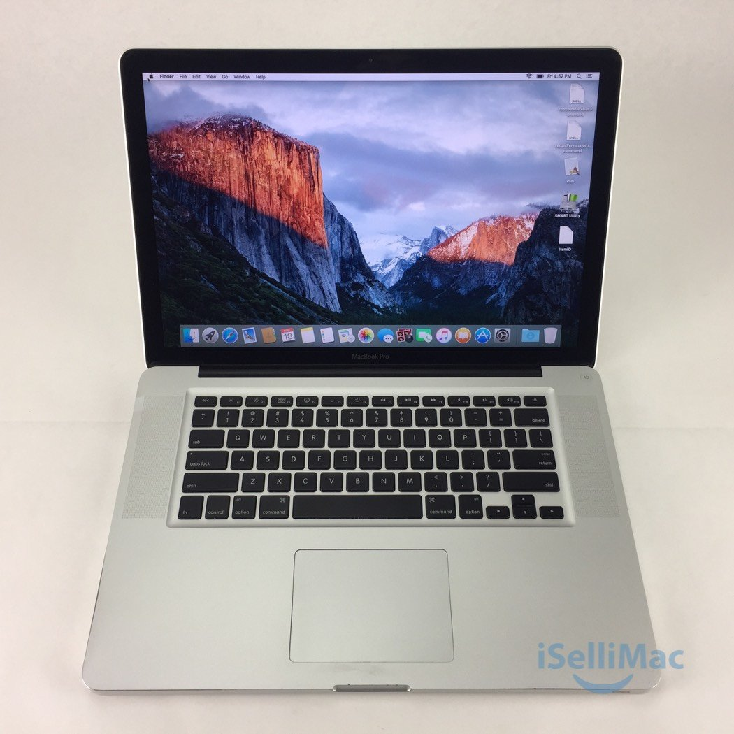 "Apple 2010 MacBook Pro 15"" 2.53GHz I5 500GB 8GB MC372LL/A + B Grade + Warranty!"