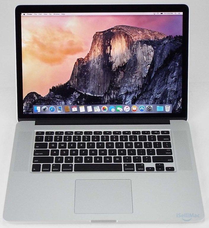 """Apple 2014 MacBook Pro Retina 15"""" 2.2GHz I7 256GB SSD 16GB MGXA2LL/A + B Grade"""
