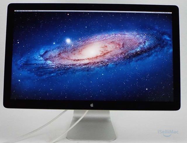 "Apple 27"" LED Cinema Display LCD MC007LL/A + B Grade + Free Shipping + Warranty!"