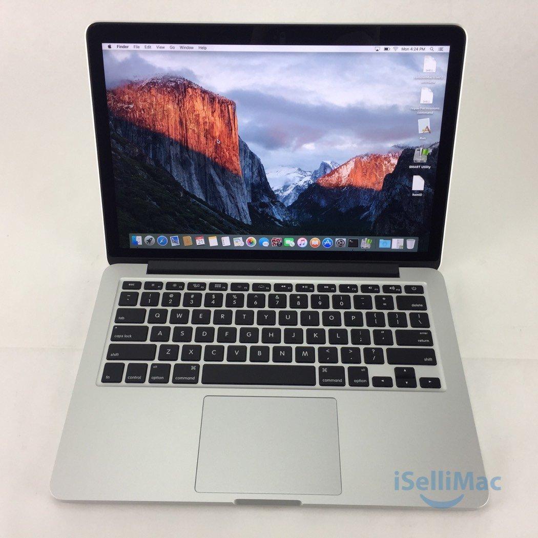 """Apple 2013 MacBook Pro Retina 13"""" 2.8GHz I5 512GB 16GB ME867LL/A-BTO + A Grade"""