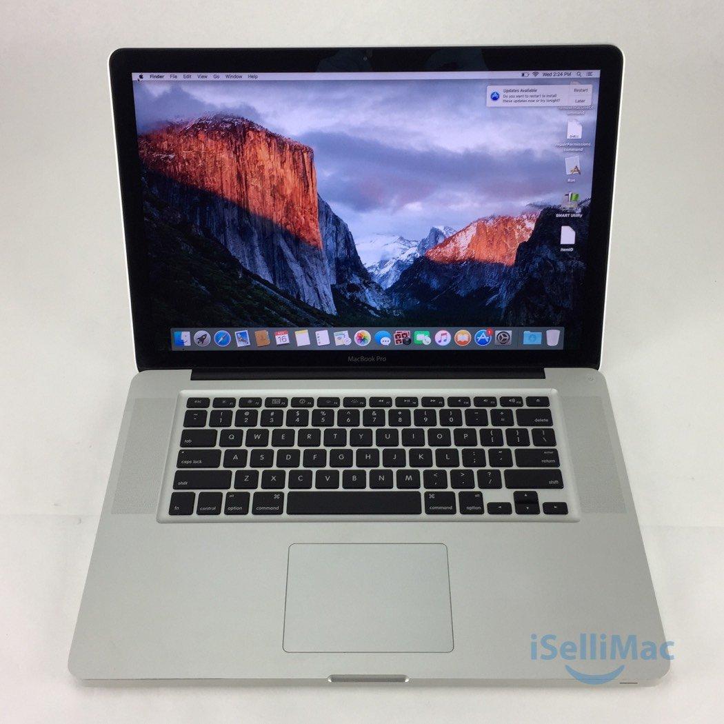 "Apple 2010 MacBook Pro 15"" 2.4GHz I5 250GB 8GB MC371LL/A + B Grade + Warranty!"