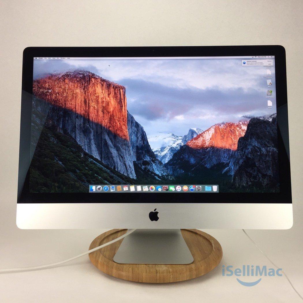"Apple 2013 27"" IMac 3.5GHz Core I7 3TB Fusion Drive 32GB ME089LL/A-BTO + B Grade"