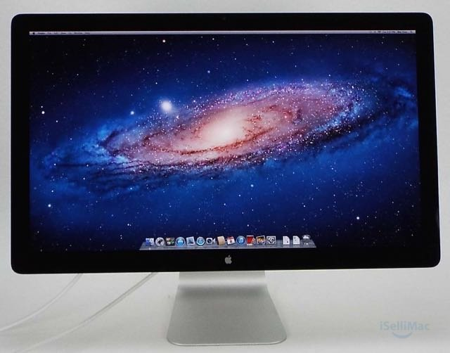 "Apple 27"" Thunderbolt Display HD LED LCD MC914LL/A + B Grade + Warranty!"