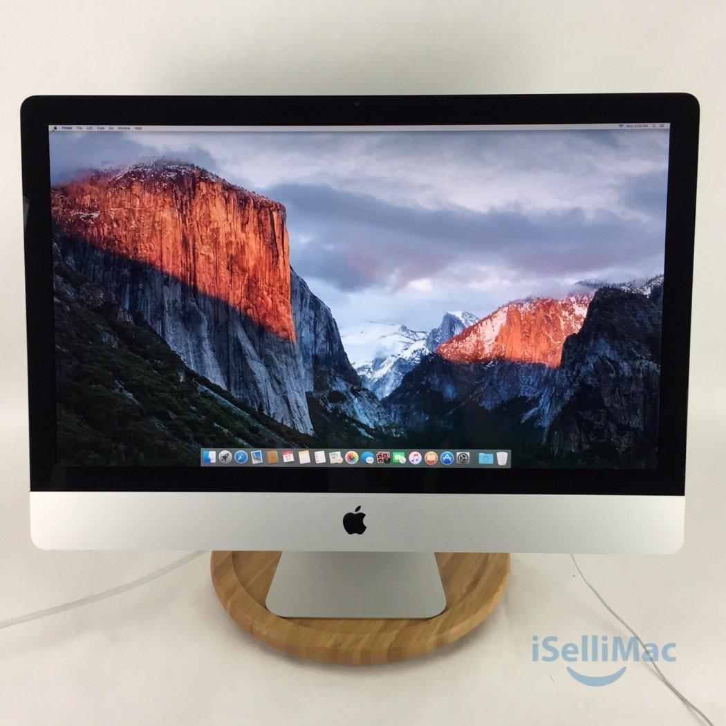 "Apple 2009 27"" IMac 2.66GHz Core I5 1TB 14GB MB953LL/A + B Grade + Warranty!"