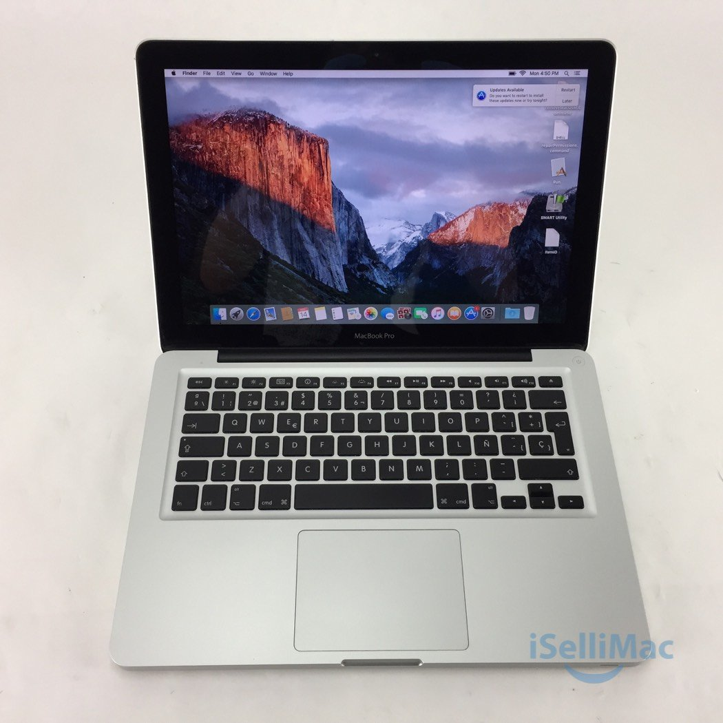 "Apple 2009 MacBook Pro 13"" 2.26GHz Core 2 Duo 480GB SSD 8GB MB990LL/A + B Grade"