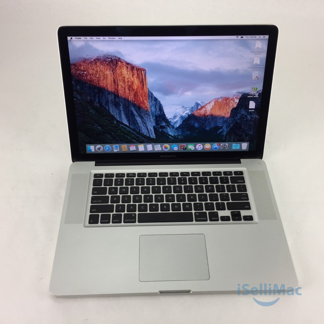 "Apple 2008 MacBook Pro 15"" 2.53GHz C2D 500GB 4GB MB471LL/A + C Grade + Warranty!"