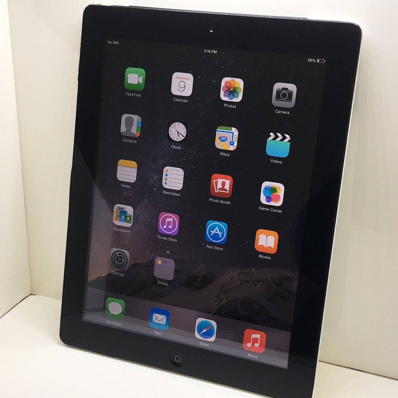 Apple AT&T IPad 2 2ND GEN WiFi + Cellular 32GB Black MC774LL/A + C Grade