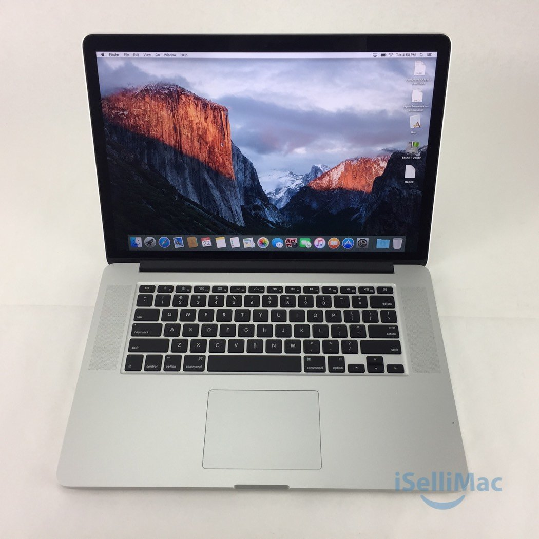 "Apple 2014 MacBook Pro Retina 15"" 2.5GHz I7 512GB SSD 16GB MGXC2LL/A + B Grade"