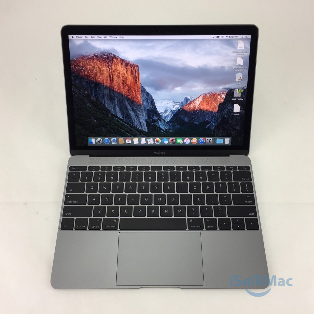 "Apple 2015 MacBook Retina 12"" 1.3GHz Core M 512GB SSD 8GB MJY42LL/A-BTO +B Grade"