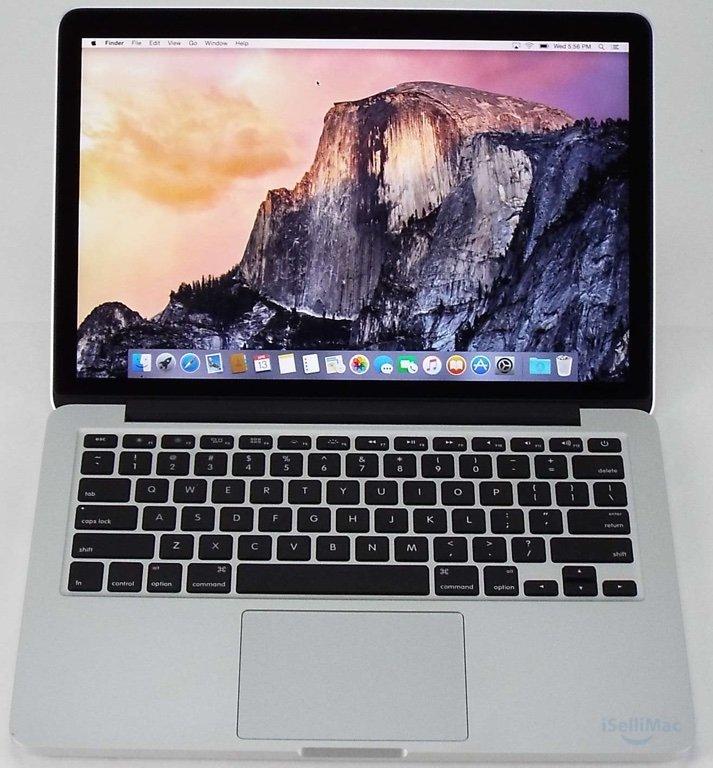 """Apple 2015 MacBook Pro Retina 13"""" 2.7GHz I5 128GB SSD 8GB MF839LL/A + B Grade"""