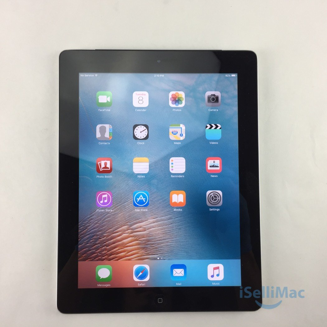 Apple AT&T IPad 2 2ND GEN WiFi + Cellular 16GB Black MD065LL/A + C Grade
