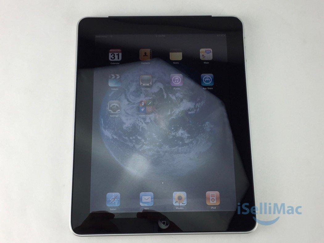 Apple AT&T IPad 1ST GEN WiFi + Cellular 32GB Black MC496LL + C Grade + Warranty!