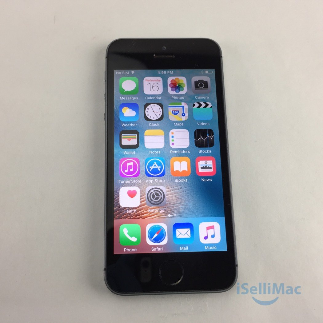 Apple Verizon IPhone 5s 16GB Space Gray NE341LL/A + GSM Unlocked + C Grade