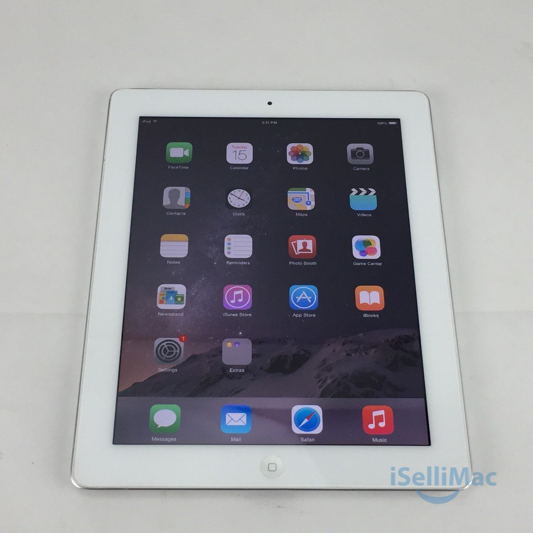 Apple IPad 2 2ND GEN WiFi 32GB White MC980LL/A + C Grade + Warranty!