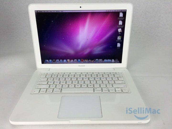 """Apple 2009 White MacBook Unibody 13"""" 2.26GHz C2D 320GB 4GB MC207LL/A + Warranty!"""