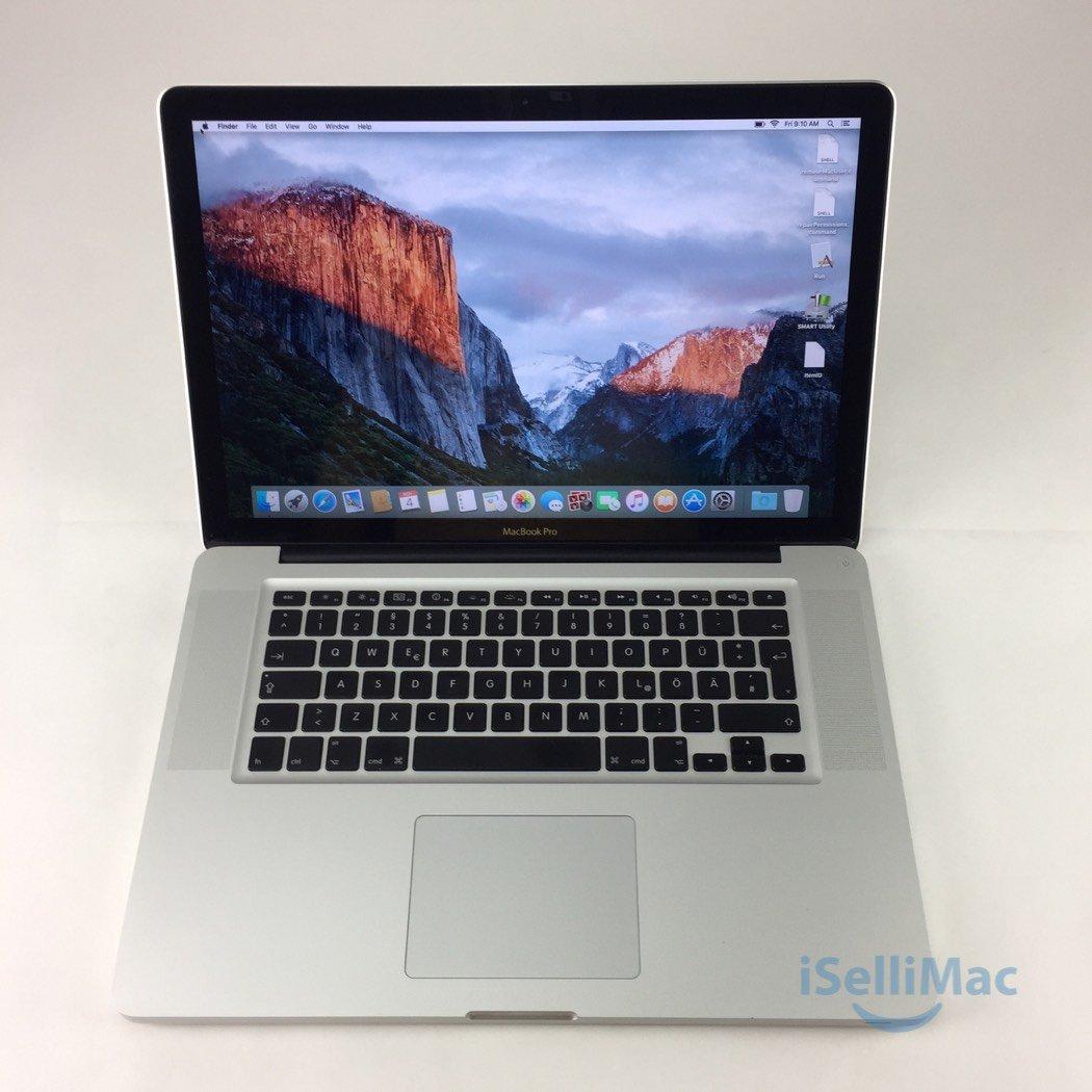 "Apple 2010 MacBook Pro 15"" 2.4GHz I5 320GB 4GB MC371LL/A + B Grade + Warranty!"