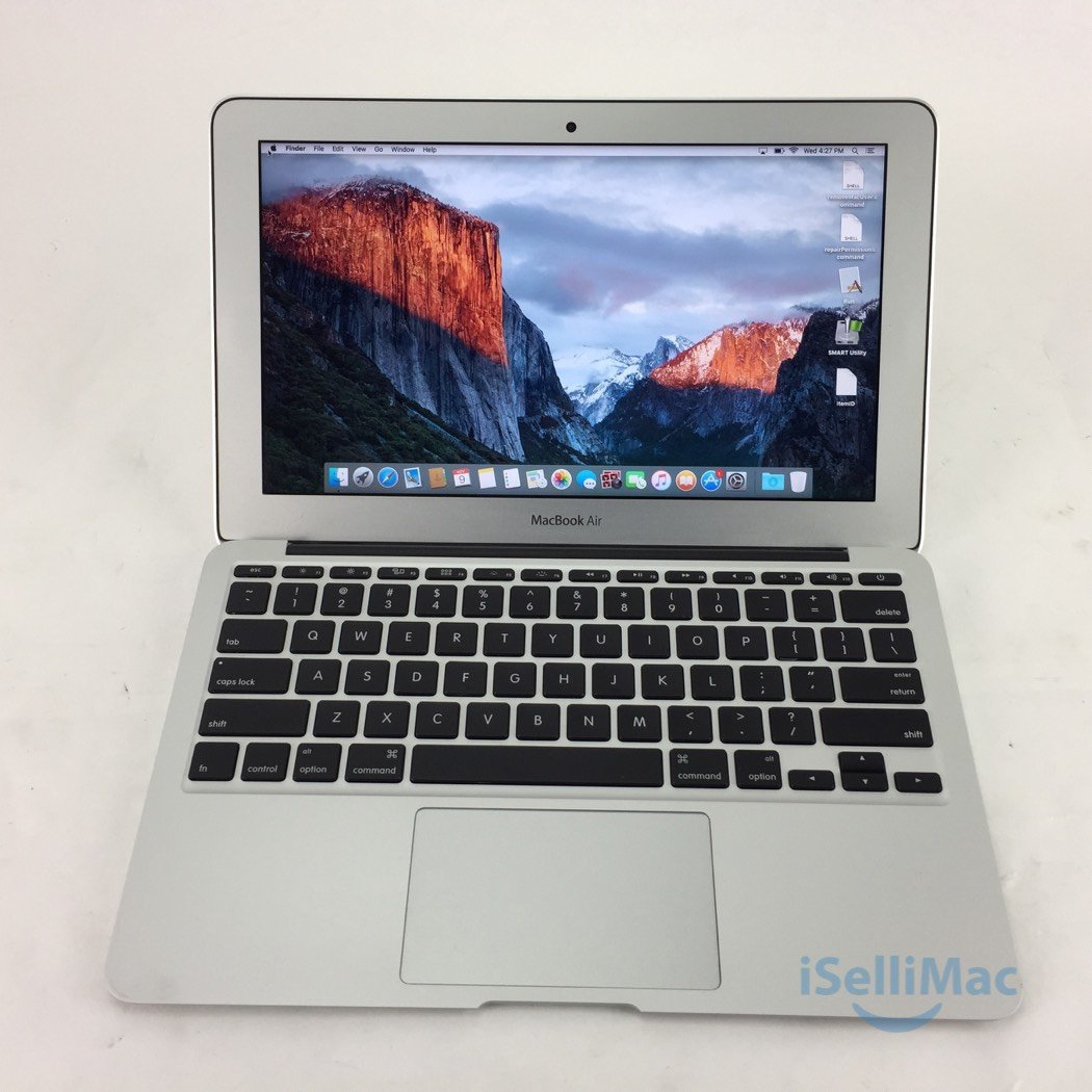 "Apple 2012 MacBook Air 11"" 1.7GHz I5 64GB SSD 4GB MD223LL/A + B Grade + Warranty"