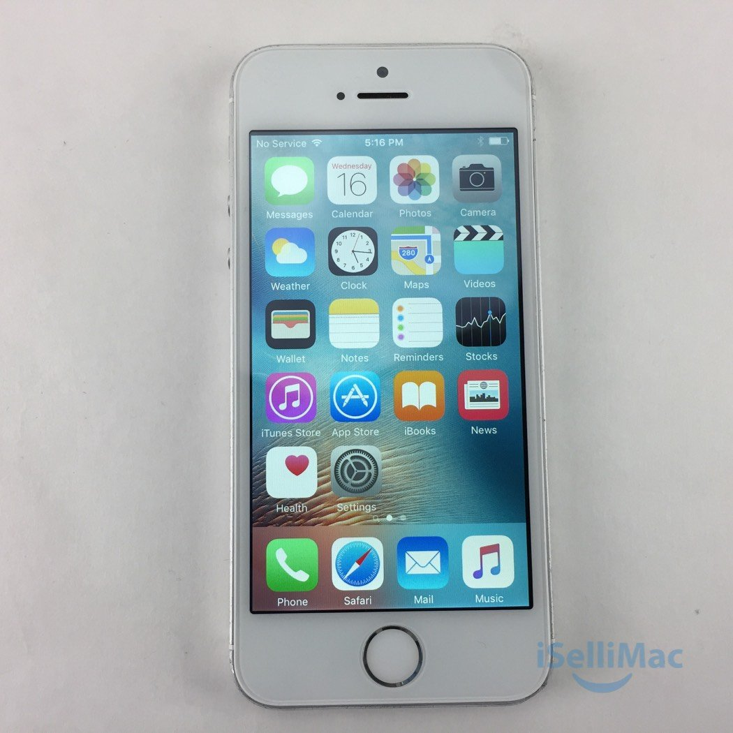 Apple AT&T IPhone 5s 32GB Silver ME300C/A + C Grade + Accessories + Warranty!