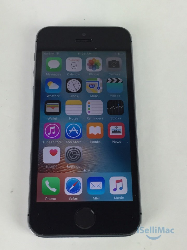 Apple AT&T IPhone 5s 32GB Space Gray ME308LL/A + B Grade + Warranty!