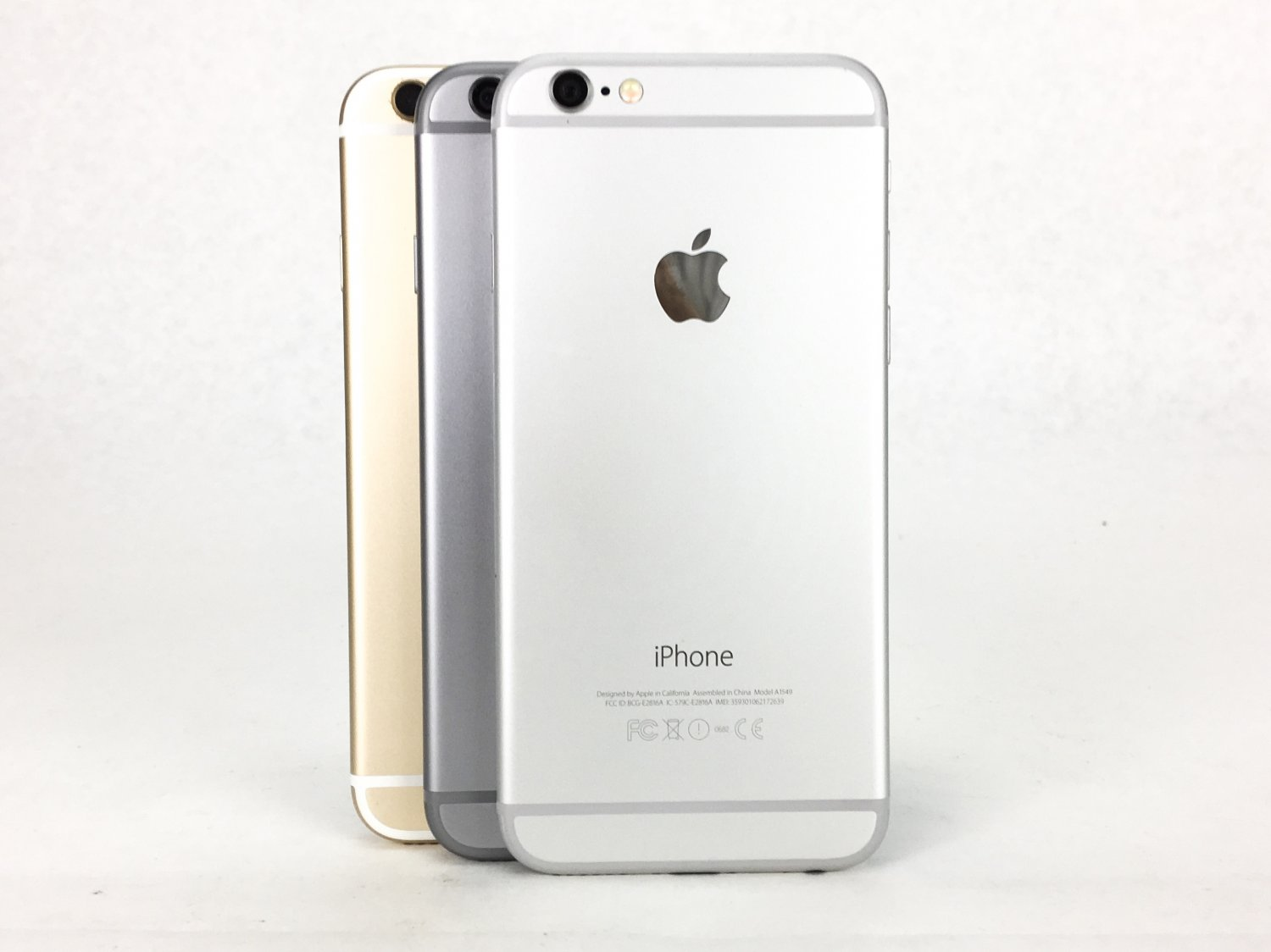 Apple AT&T IPhone 6 16/64/128 GB - Gray/Gold/Silver + Good Condition + Warranty