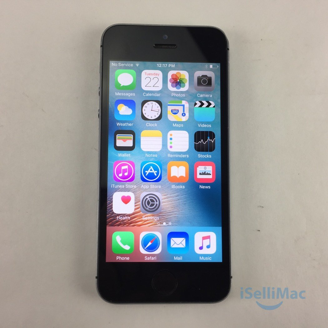 Apple AT&T IPhone 5s 16GB Space Gray ME305LL/A + D Grade + Warranty!