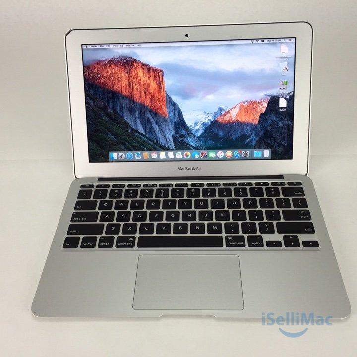 "Apple 2011 MacBook Air 11"" 1.6GHz I5 64GB SSD 2GB MC968LL/A + B Grade + Warranty"
