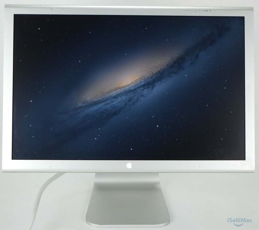 "Apple 20"" Cinema Display LCD M9177LL/A + B Grade + Power Adapter/Cord + Warranty"