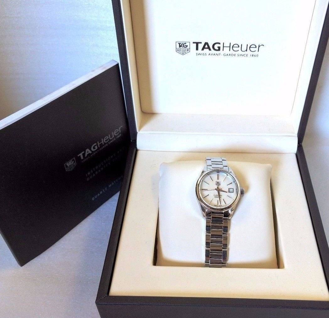 TAG Heuer Women's Carrera WAR2411.BA0770 Analog Swiss Automatic Silver (307838)