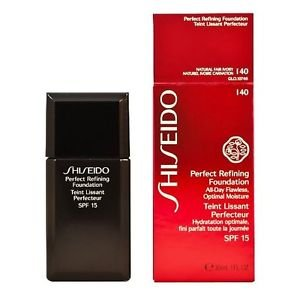 Shiseido Perfect Refining Foundation SPF 16 I40 Natural Fair Ivory (-642)