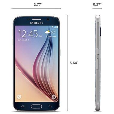 Samsung Galaxy S6 SM-G920T - 32GB - Black GSM Unlocked smartphone