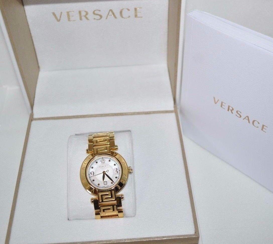 """Versace Women's 68Q70D498 S070 """"Reve"""" Gold-Plated Watch (306878)"""