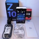 BlackBerry Z10 - 16GB - White ( Factory Unlocked) Smartphone STL100-4