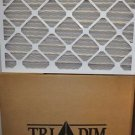 16 X 25 X 2 AIR FILTER 12 PACK ES40 PLEATED AIR FILTER TRI-DIM (12 FILTERS)