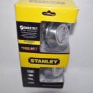STANLEY 324626S Satin Chrome Double Cylinder Deadbolt with SmartKey