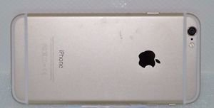 Apple iPhone 6 - 128GB - Gold (AT&T) Smartphone MG4V2LL/NEEDS REPAIR (1104-4)