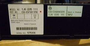 Volkswagen 1996-2005 OEM 6 Disc CD Change w Magazine Cartridge - Part 1J6035111