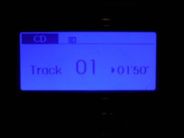 2012 HYUNDAI SONATA RADIO RECEIVER CD MEDIA 96180-3Q600
