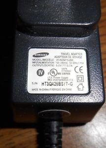 Samsung ATADM10JBE OEM (Original) Home Wall Travel Charger / AC Power Adapter