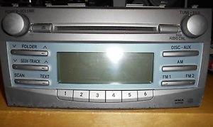 2007-2009 Toyota Camry  Radio Xm Mp3 Cd Player 86120-06181