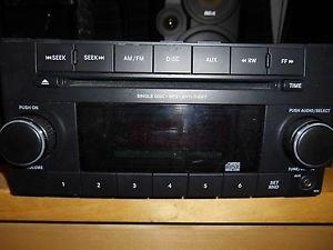 12-14 Dodge Grand Caravan Town & Country Radio Cd Mp3 P05091301AA