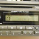Honda Ridgeline XM Radio Stereo 6 Disc Changer CD MP3 Player WARM GREY 3TS1